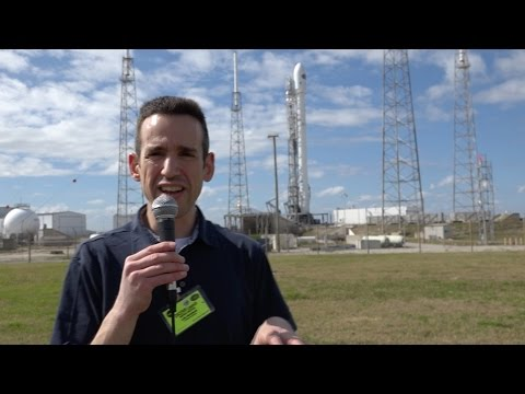 SpaceX DSCOVR Launch - Overview of the Mission and Rocket Landing Technology from the launchpad!