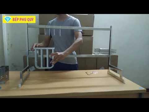 Hướng dẫn lắp đặt kệ úp chén trên bồn rửa [giá để đồ trên chậu rửa bát]
