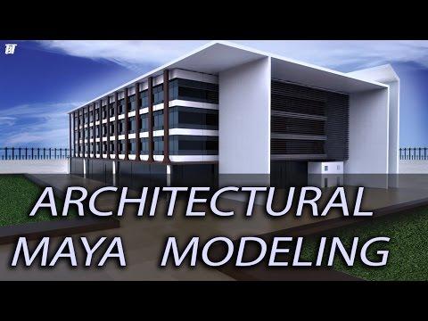 Architectural Autodesk Maya Modeling | Building Exterior | Keyshot Rendering | Tutorial