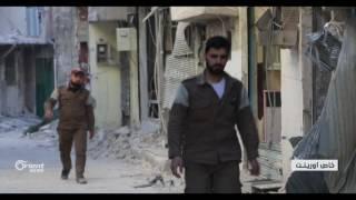 النظام يستهدف الدفاع المدني بالقابون وحي تشرين