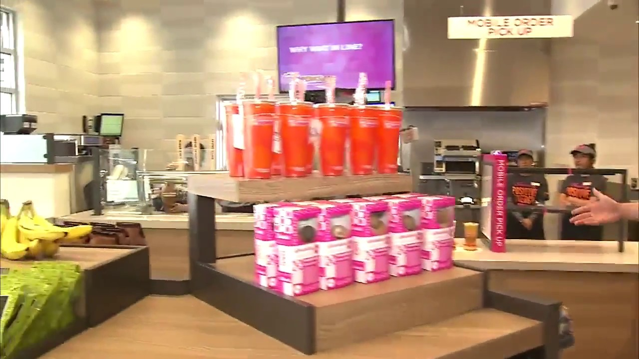 Dunkin donuts new concept opening in corona