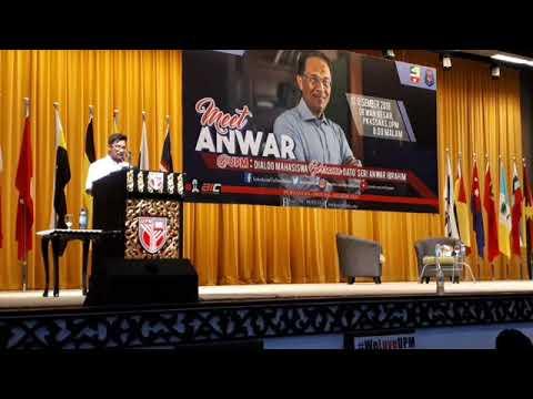 FBLive : Sesi Dialog Mahasiswa dgn DS Anwar Ibrahim  dalam program Meet Anwar@UPM