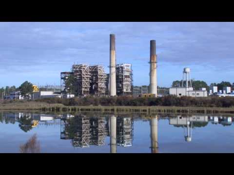 Weatherspoon Plant Implosion November 22, 2013
