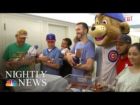 Baby Boom Hits Chicago After Cubs' World Series Win | NBC Nightly News