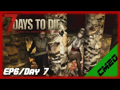 7 Days to Die -EP6/Day 7 - A uneventful night