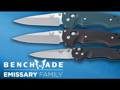 Benchmade 477S Emissary 3.5 video_2