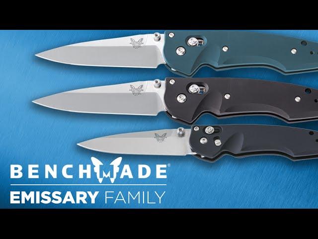 Benchmade Emissary Family