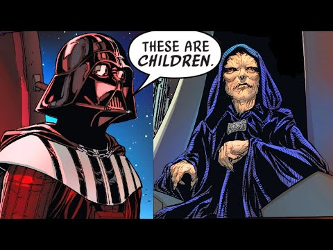 When Darth Vader Saved Younglings From Palpatine(Canon) - Star Wars Comics Explained