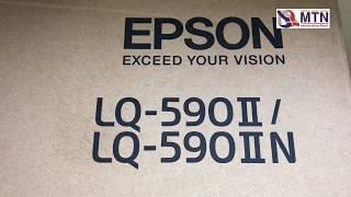 Unboxing Epson LQ590