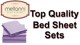 Mellanni Tiffany Blue Bed Sheets | Blue Bed Set