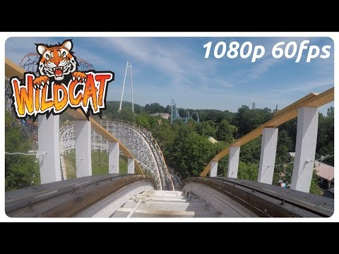 Wildcat In-between The Tracks On-ride 1080p 60fps POV - Lake Compounce, Bristol CT