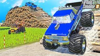 "BIGFOOT ""DESTROYS"" EXTREME OFFROAD PARK | (KST MAP) | FARMING SIMULATOR 2019"