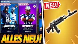 GLEICH NEW SPECIAL STORM GUN!😲🔥 | NEW NFL FOOTBALL SKINS COMING!🏈 | Fortnite Battle Royale