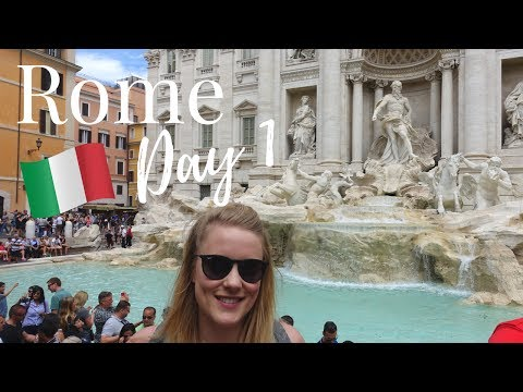 ROME, ITALY VLOG #1: Trevi Fountain, The Spanish Steps, The Vatican