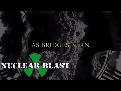 MEMORIAM - As Bridges Burn (OFFICIAL LYRIC VIDEO)