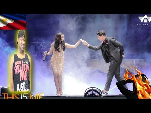 RARE PERFORMANCE!SARAH GERONIMO & Daniel Padilla collaborate | INDIAN REACTION TO FILIPINO VIDEO