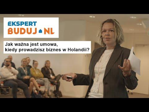 Jak ważna jest umowa, kiedy prowadzisz biznes w Holandii? - Ekspert Buduj.nl odc.2