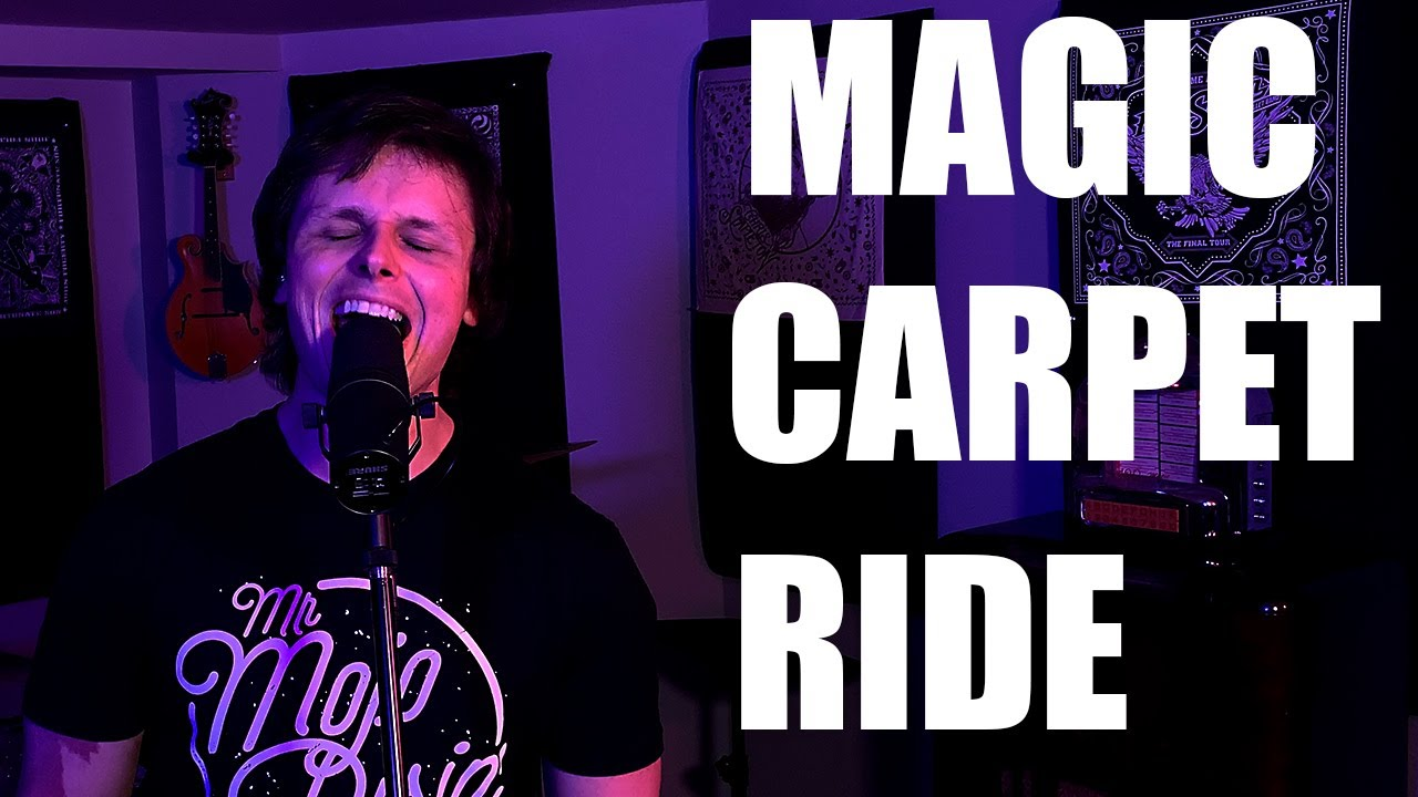 Magic Carpet Ride (Steppenwolf Cover) - Gnarly Studio Sessions - Carey Worrod
