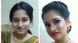 Real Maharashtrian Engagement Bride...
