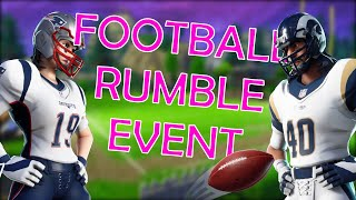 NFL Rumble LTM! - 'FREE' Football TOY! (Fortnite: Bataille Royale)