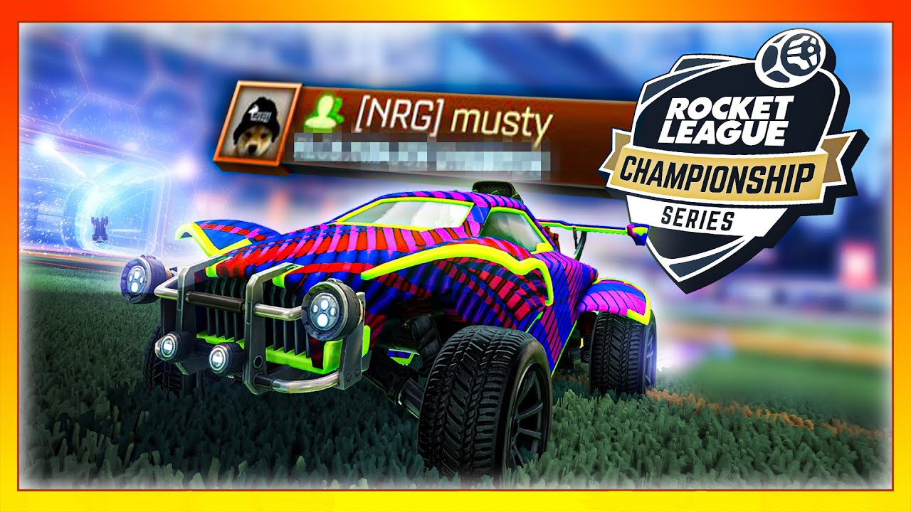I finally got one of the RAREST titles in Rocket League | Musty MOMENTS 18 🐮