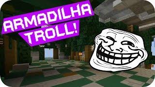 Armadilha Troll! - Minecraft Quakecraft TotalArmy