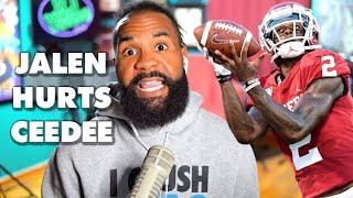 How CeeDee Lamb improved Jalen Hurts' NFL draft stock