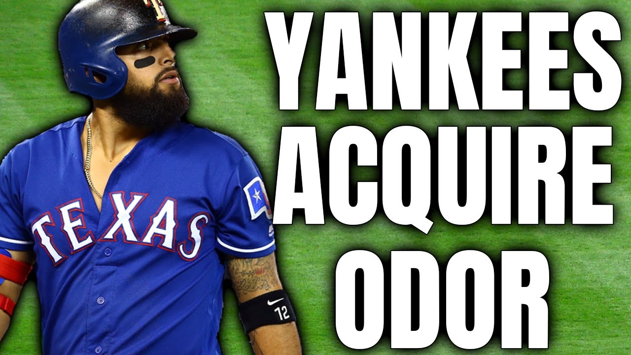 New York Yankees acquire infielder Rougned Odor in trade with ...