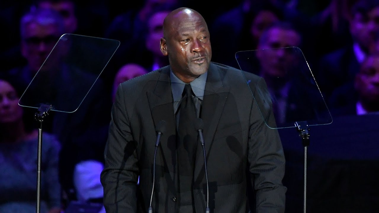 Michael Jordan's Emotional Speech About Kobe Bryant and Being Meme In The Name of Kobe [VIDEO]