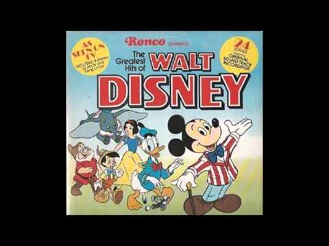 The Greatest Hits Of Walt Disney (Side 1) - 1975 - 33 RPM