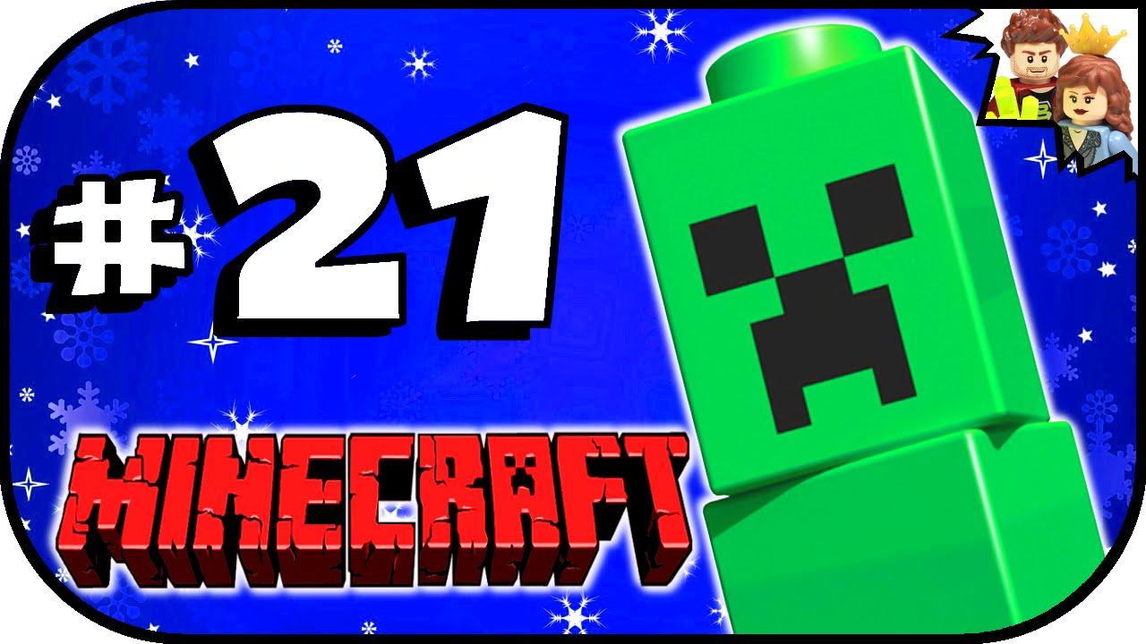 ... MOC LEGO Minecraft 2015 Advent Calendar Day 21 Unboxing - YouTube
