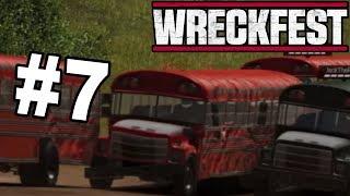 Next Car Game Wreckfest (#7) - KOMBAJNY, AUTOBUSY  - PEŁNA WERSJA GRY I OMÓWIENIE