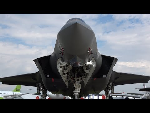 ILA 2018 Highlight | Amazing F-35 | Static Display at ILA Berlin Air Show 2018