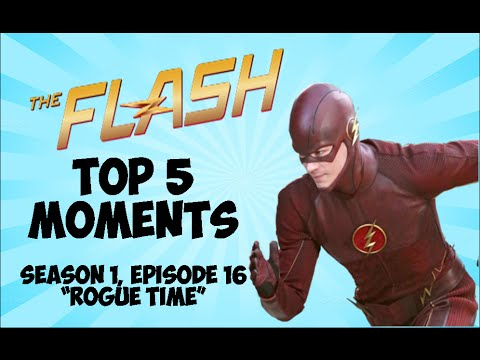 """The Flash 1x16 """"Rogues Time"""" Top 5 Moments"""