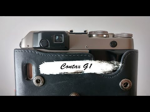 Contax G1 Viewfinder (View Through The Viewfinder)