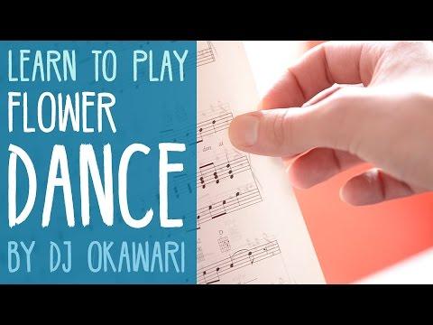 Flower Dance (DJ Okawari) made easy - Piano Tutorial