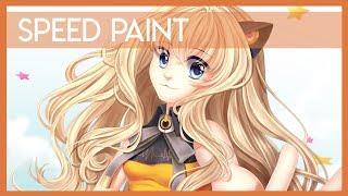 Speed Paint | SeeU Vocaloid【LemonPoppySeedMuffin】