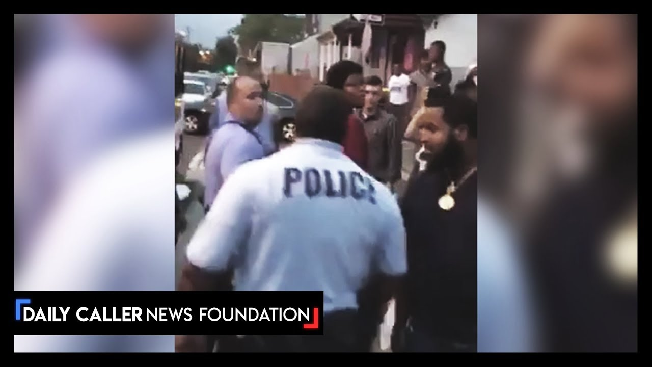DC Shorts  Protesters Harass Cops After Philadelphia Shooting