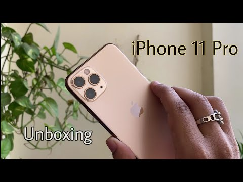 IPhone 11 Pro Gold Unboxing & First Look Hindi