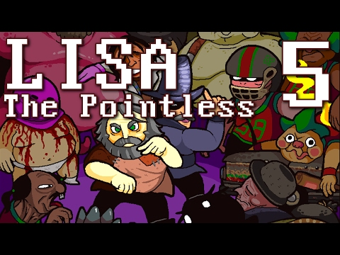 LISA: The Pointless - HEY ARNOLD (LISA Fan Game) Manly Let's Play Pt.5