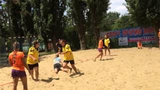 #4 Пляжный гандбол Волгоград-Краснодар 2-0 1997-1999