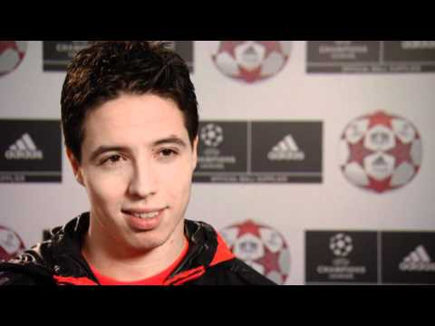 Interview with Samir Nasri   On Arsenal and Champions League