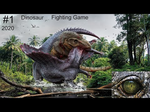 Dinosaur Fight | Dino Fighting Game 2020 | Walkthrough Gameplays | Android And IOS | Online