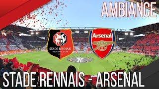 STADE RENNAIS - ARSENAL [3-1] | RENNES - ARSENAL | ROAZHON CELTIC KOP