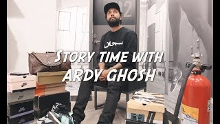 Sneaker Story Time with Ardy Ghosh | MainstreetTv