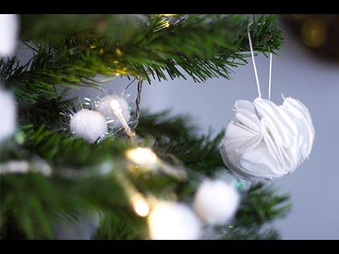DIY Noël : Boule pompon   YouTube