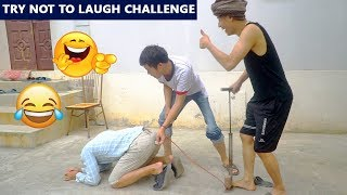 TRY NOT TO LAUGH CHALLENGE | Washing Clothes Prank | Comedy Videos by Sml Troll - Ep 18