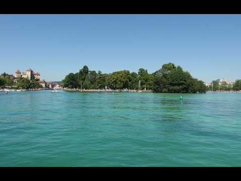Visiting Lake Annecy, Lake in Haute Savoie, France