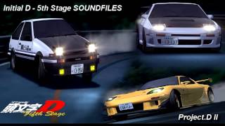 Repeat youtube video Initial D 5th Stage SOUNDFILES  Proejct.D II