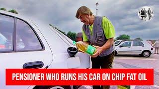 Pensioner who runs his car on chip fat oil